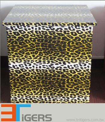 black & yellow leopard vehicle wraps
