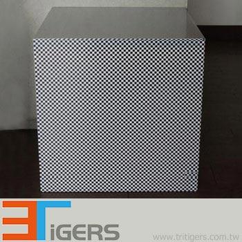 small check pattern auto graphic marking film