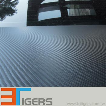Q150 3D Carbon Fiber Sticker