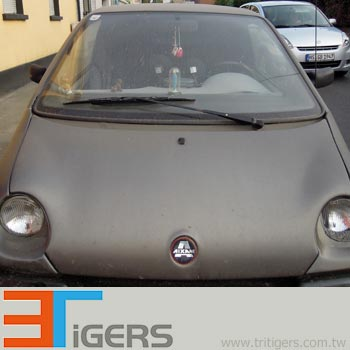 Steel patter brushed metallic wrapping vinyl for cars