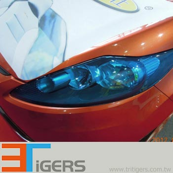 Headlight taillight protection pvc transparent yellow car wraps headlight taillight protection pvc transparent yellow aloadofball Image collections