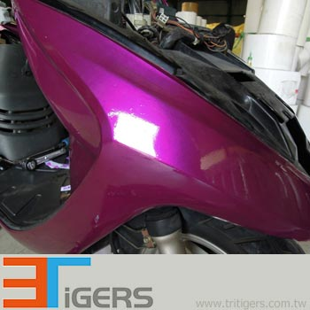 purple paint wrapping film for cars