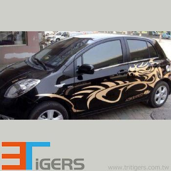 color SAV for vehicle graphic stickers