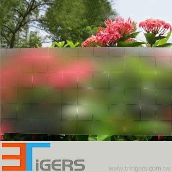 square, 20 x 20 mm, decor window film