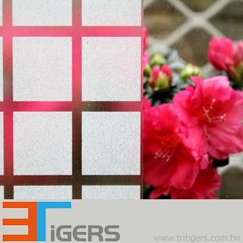 GLASS WINDOW SAFETY DOTS FOR DOORS WINDOWS FLOWERS ETCH EFFECT